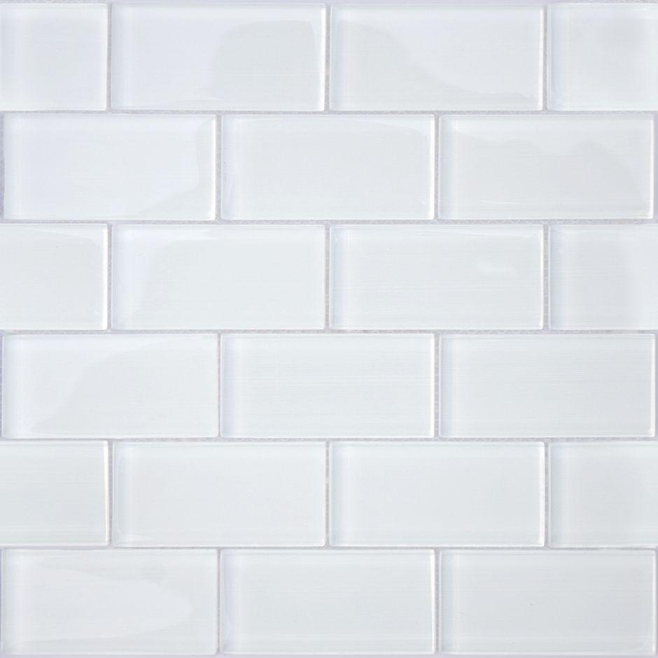 Мозаика LeeDo - Caramelle: Mattoni Bianchi 50х100х8 мм