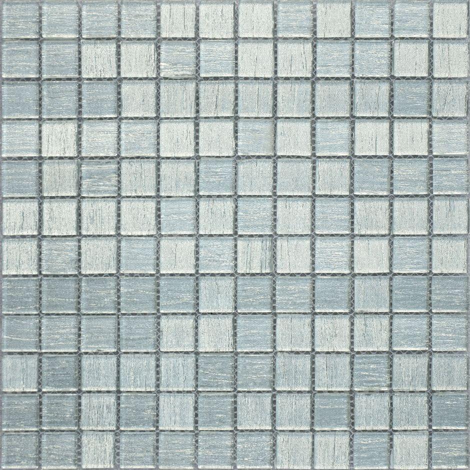 Мозаика LeeDo: Silver Satin 23x23x4 мм