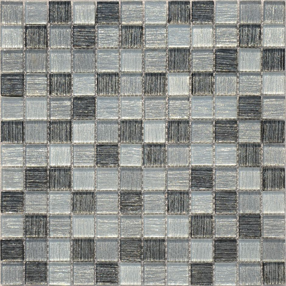 Мозаика LeeDo: Black Tissue 23x23x4 мм