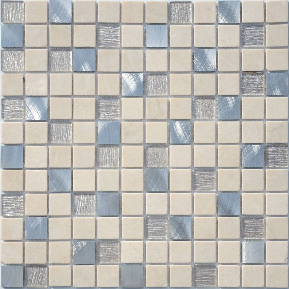 Мозаика LeeDo: Cream Velour 23x23x4 мм
