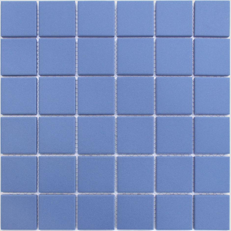 Мозаика LeeDo: Abisso blu 48x48x6 мм из керамогранита неглазурованная с прокрасом в массе