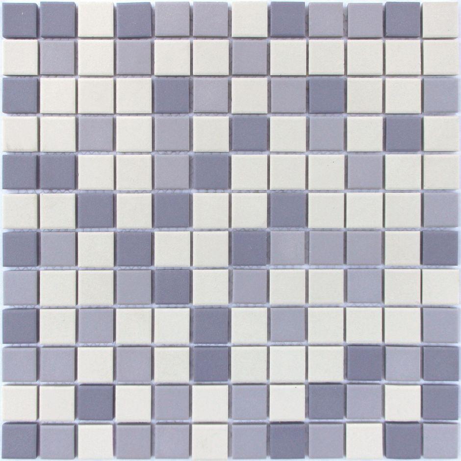 Мозаика LeeDo: Aquario 23x23x6 мм из керамогранита неглазурованная с прокрасом в массе