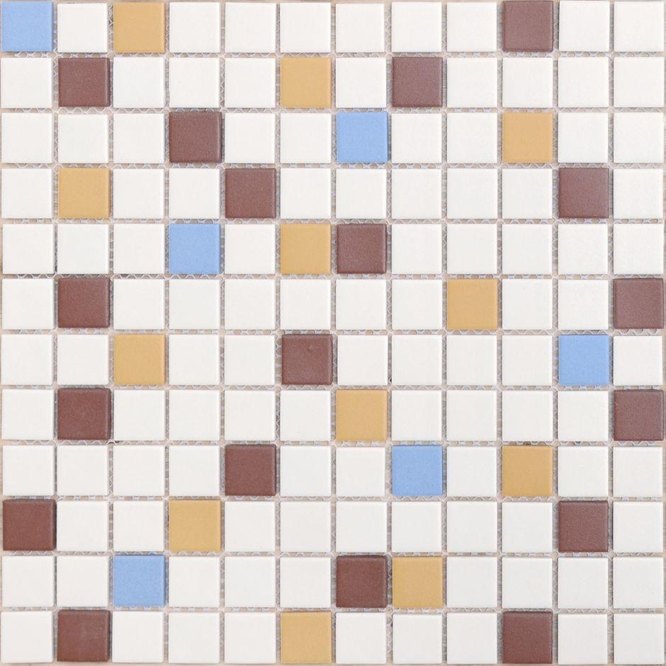 Мозаика LeeDo: Plutone 23x23x6 мм из керамогранита неглазурованная с прокрасом в массе