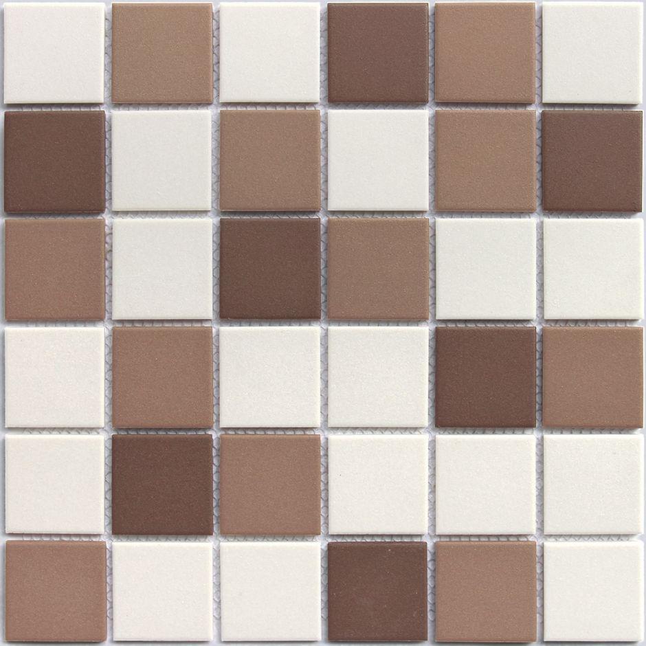 Мозаика LeeDo: Marte 48x48x6 мм из керамогранита неглазурованная с прокрасом в массе