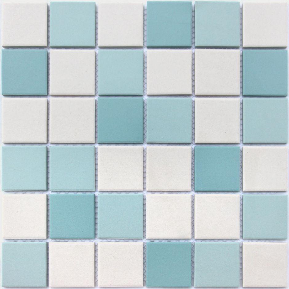 Мозаика LeeDo: Uranio 48x48x6 мм из керамогранита неглазурованная с прокрасом в массе