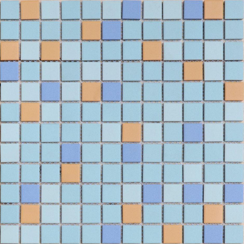 Мозаика LeeDo: Giove 23x23x6 мм из керамогранита неглазурованная с прокрасом в массе