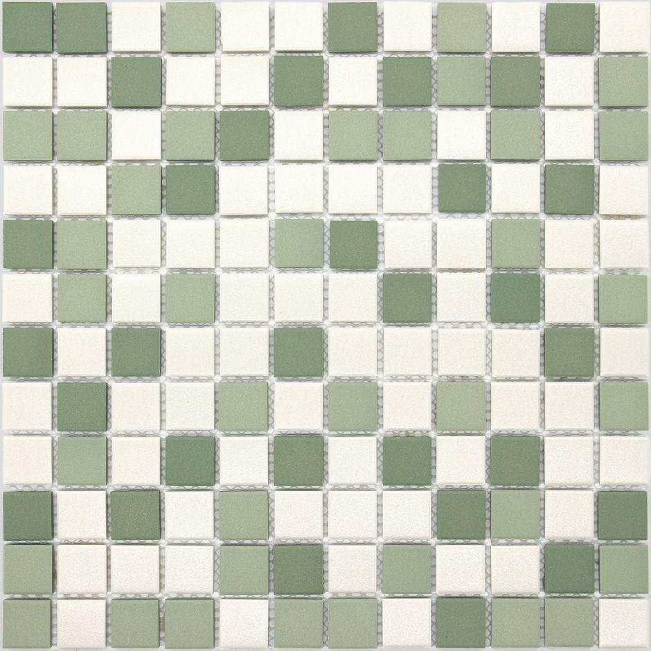 Мозаика LeeDo: Virgo 23x23x6 мм из керамогранита неглазурованная с прокрасом в массе