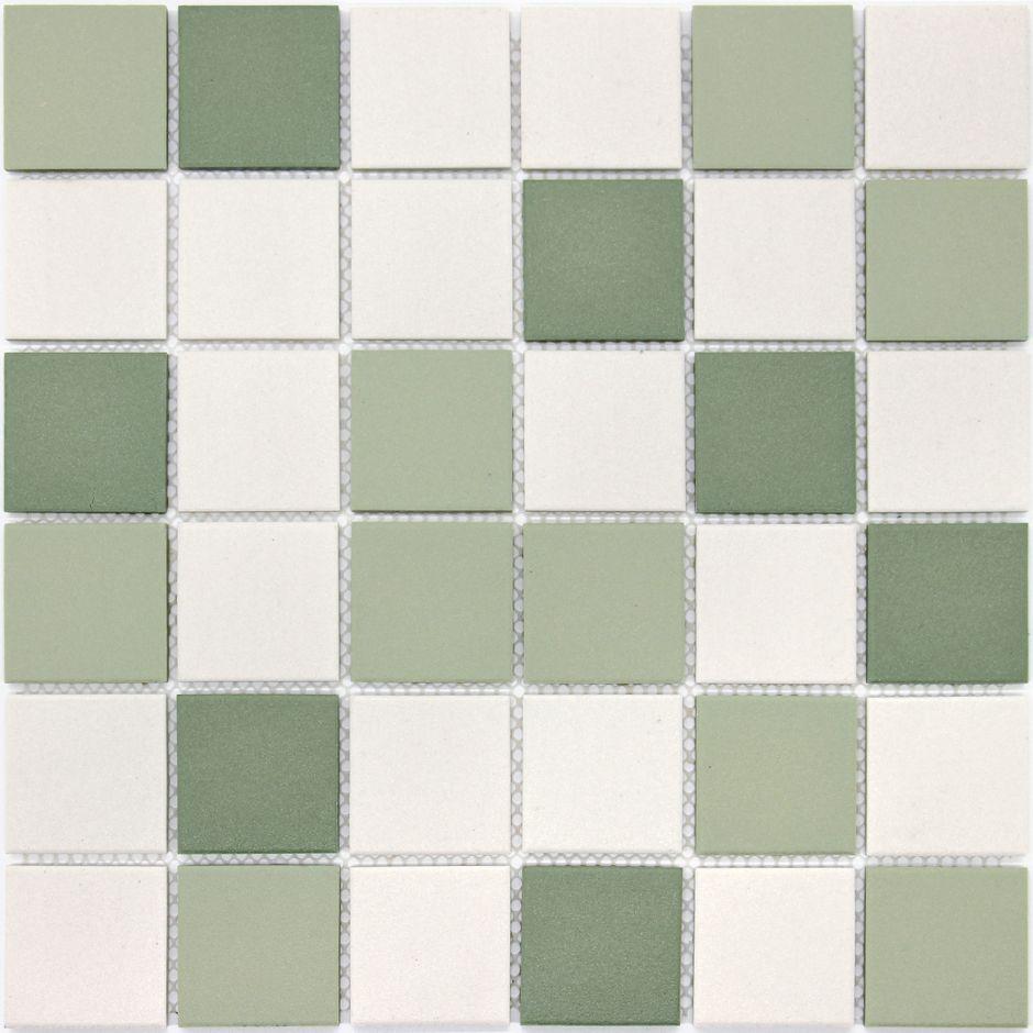 Мозаика LeeDo: Virgo 48x48x6 мм из керамогранита неглазурованная с прокрасом в массе