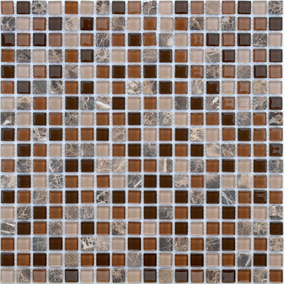 Мозаика LeeDo - Caramelle: Naturelle - Andorra 15x15x4 мм