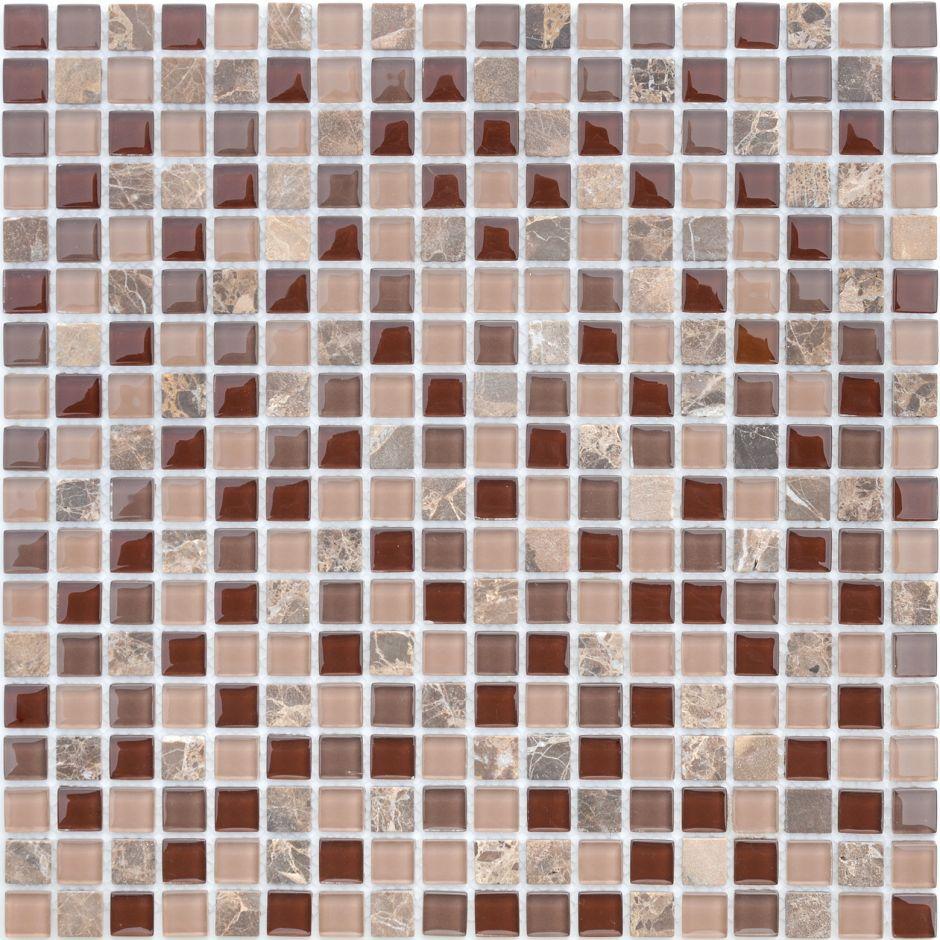 Мозаика LeeDo - Caramelle: Naturelle - Qaradag 15x15x4 мм