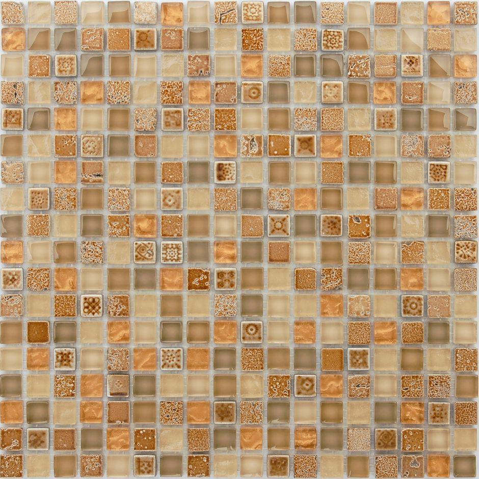 Мозаика LeeDo - Caramelle: Naturelle - Cozumel 15x15x8 мм
