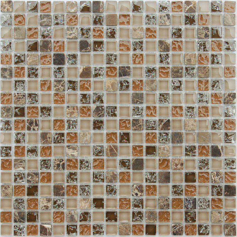 Мозаика LeeDo - Caramelle: Naturelle - Klondike 15x15x8 мм