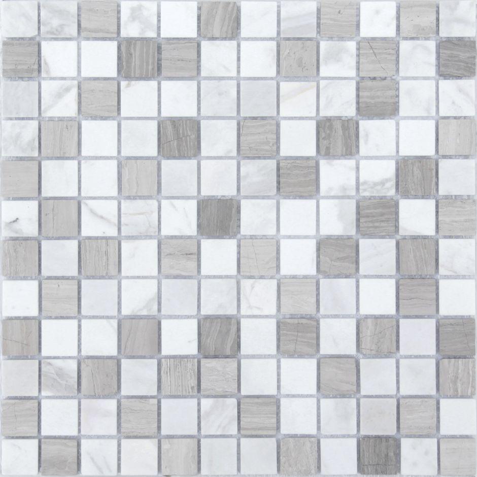 Мозаика LeeDo - Caramelle: Pietrine - Pietra Mix 2 матовая 23x23x4 мм