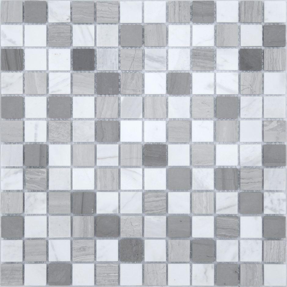 Мозаика LeeDo - Caramelle: Pietrine - Pietra Mix 3 матовая 23x23x4 мм