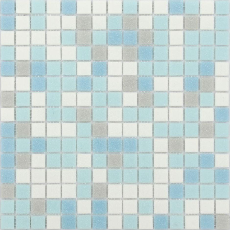 Мозаика LeeDo - Caramelle: Sabbia - Azzuro 20x20x4 мм - на бумажной основе