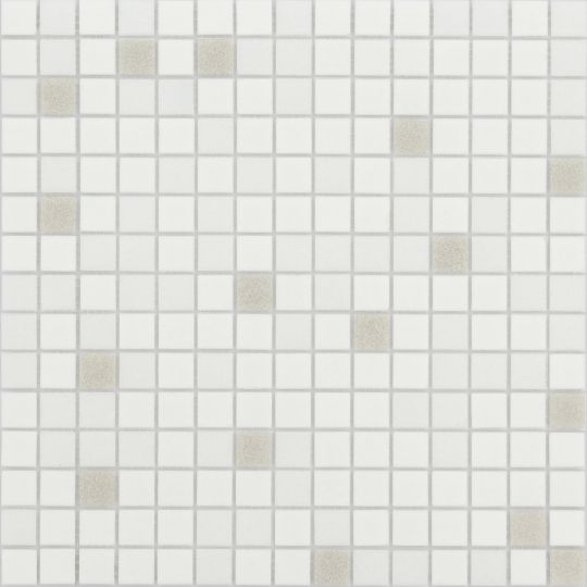 Мозаика LeeDo - Caramelle: Sabbia - Perla 20x20x4 мм - на бумажной основе