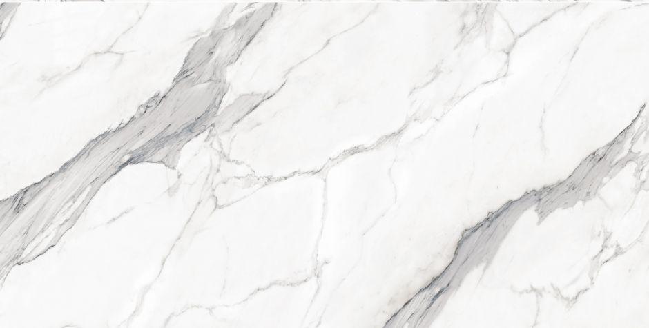 Керамогранит LeeDo: EcoStone - Bianco Carrara POL 180х90 см, полированный