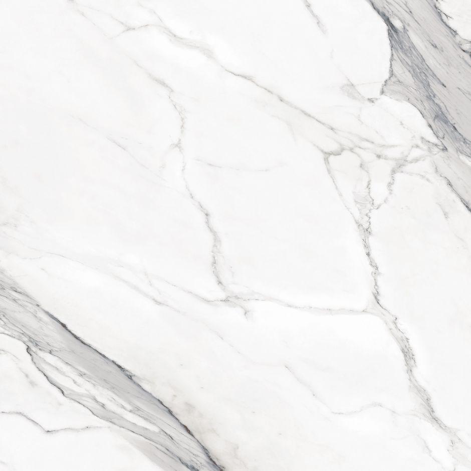 Керамогранит LeeDo: EcoStone - Bianco Carrara POL 90х90 см, полированный