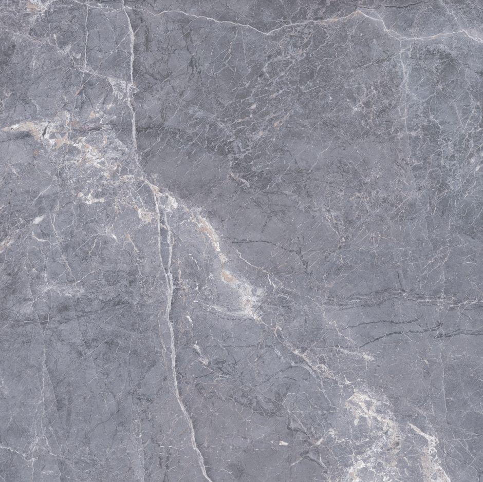 Керамогранит LeeDo: EcoStone - Siena Silver POL 90х90 см, полированный