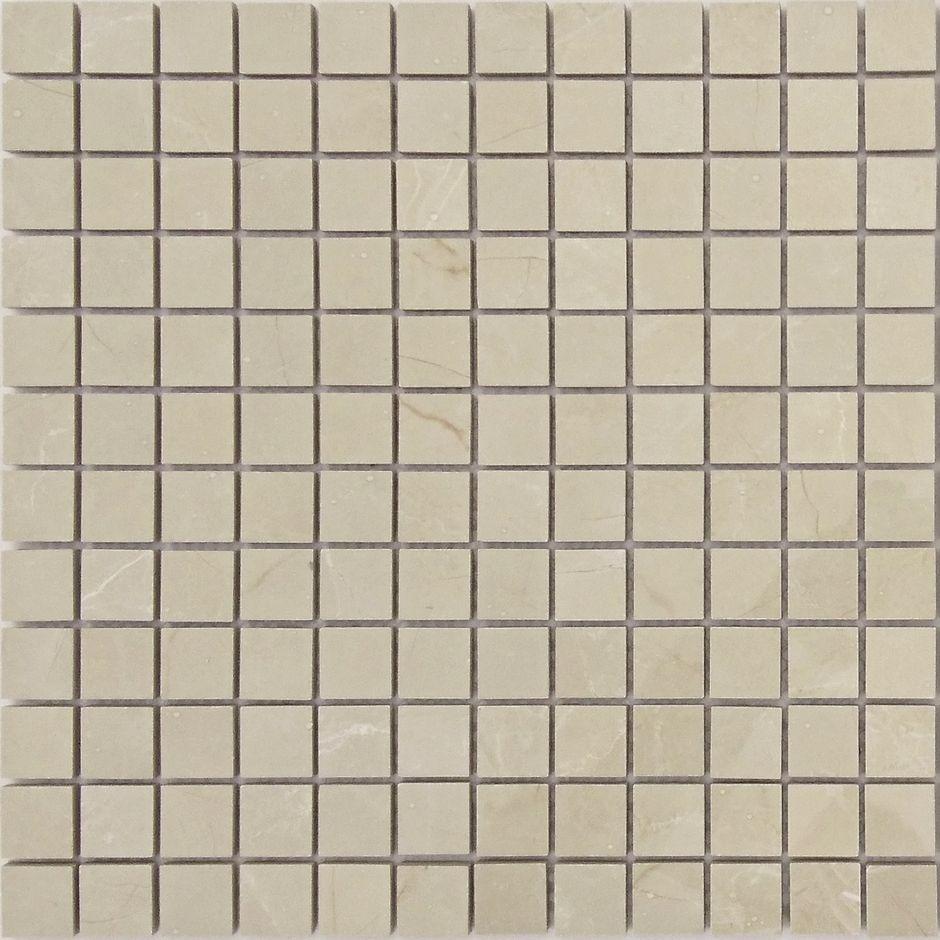 Мозаика LeeDo: Nuvola beige POL 23х23х10 мм, полированный керамогранит