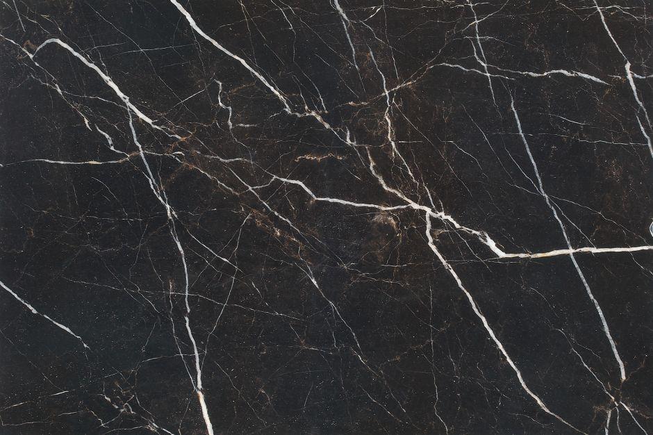 Керамогранит LeeDo: Marble GANI - Nero Marquina POL 60x90 см, полированный, с подкрашенной основой