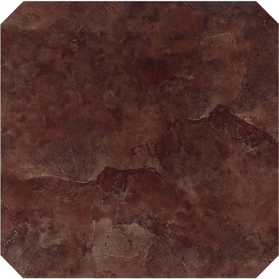 Керамогранит LeeDo: Venezia brown POL octagon 60x60 см, полированный