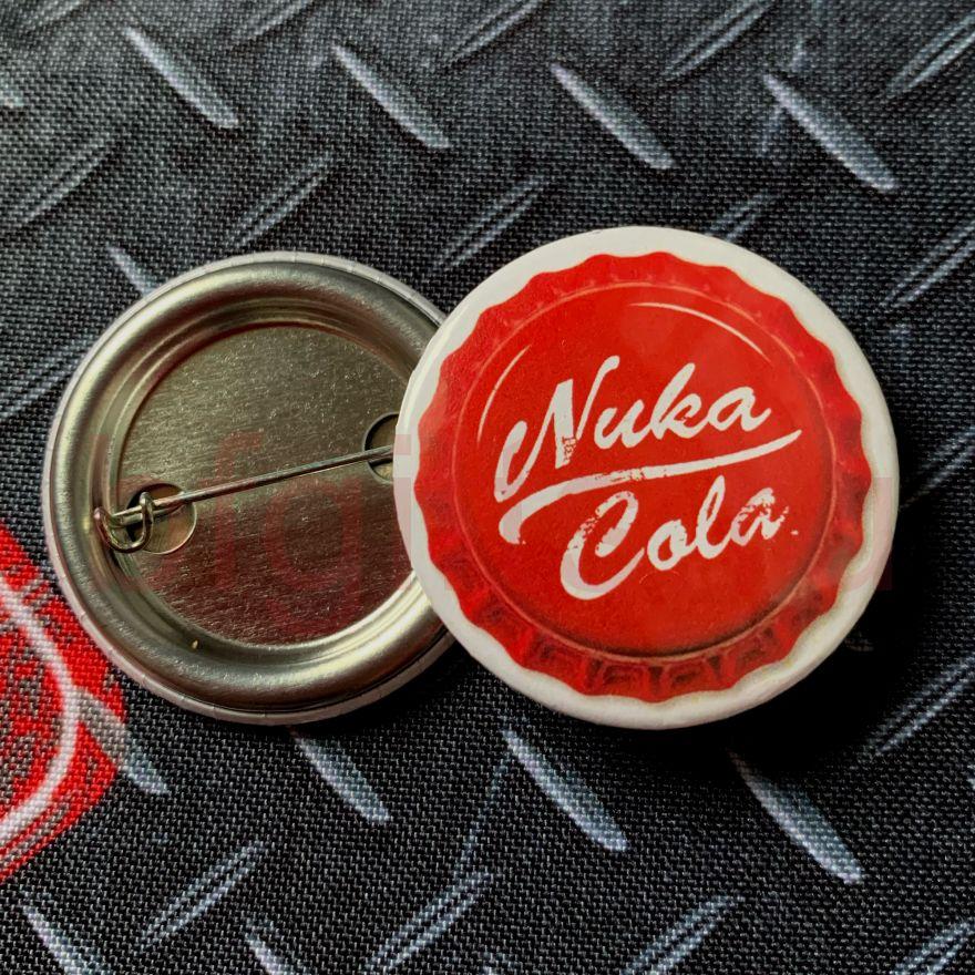 Значок Nuka Cola Fallout