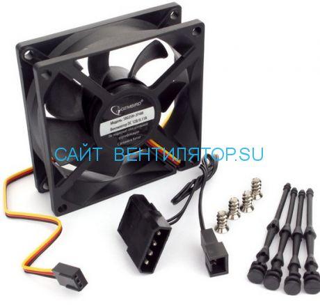 Вентилятор 80х25 12в S8025H-3P4M тихий