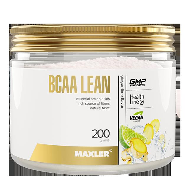 BCAA Lean от Maxler (vegan BCAA/Fibers) 200 г. 40 порций