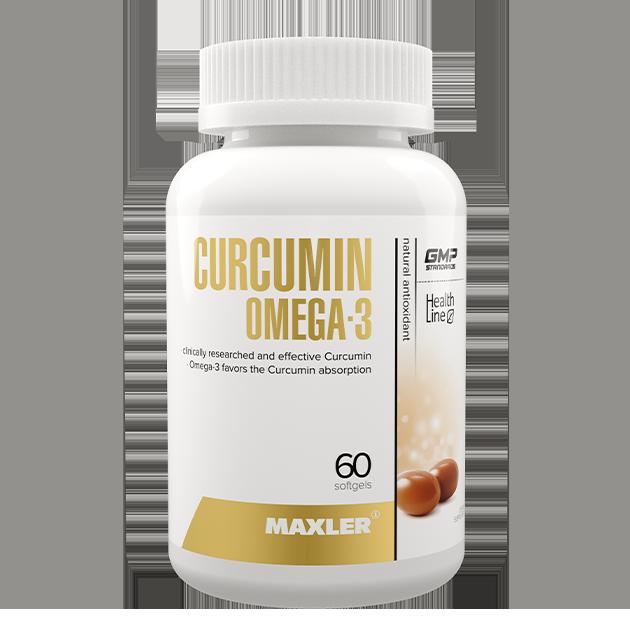 Curcumin Omega 3 от Maxler 60 капс.