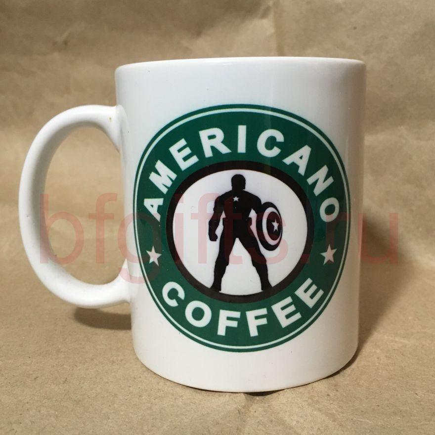 Кружка Капитан Америка, уценка