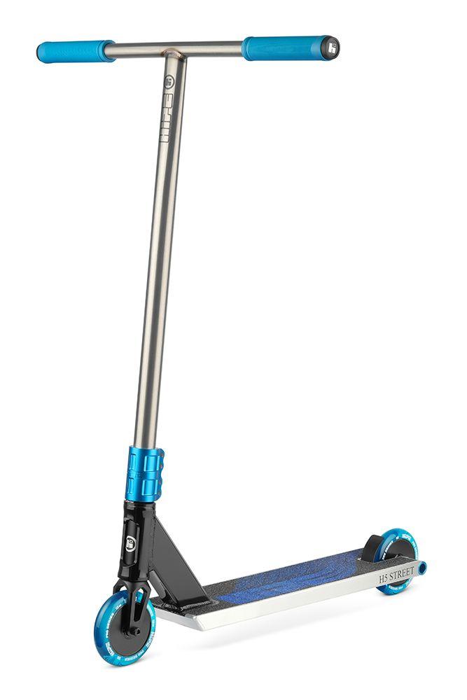 Самокат HIPE H5 raw/black/blue 2021
