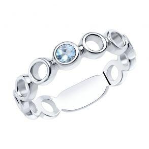 Кольцо из серебра 92011964 SOKOLOV