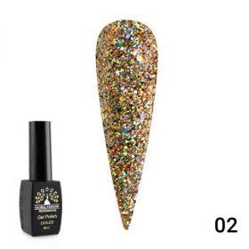 Гель лак Diamond Ball 8мл Global Fashion LG DB-02