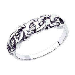 Кольцо из серебра 95010143 SOKOLOV