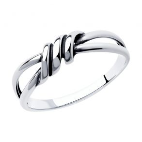 Кольцо из серебра 95010149 SOKOLOV