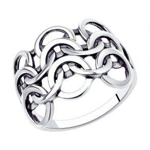 Кольцо из серебра 95010145 SOKOLOV