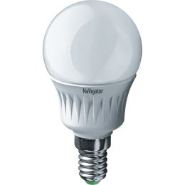 "Лампа светодиодная (led) ""Онлайт"" G45 шар 08w E14, тепл. свет"