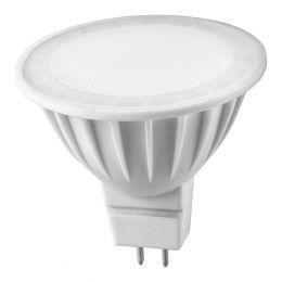 "Лампа светодиодная (led) ""Онлайт"" MR16 05w GU5.3, тепл. свет"