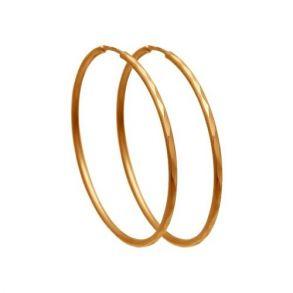 Серьги конго из золота с алмазной гранью 140062 SOKOLOV