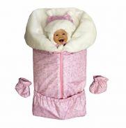 ММ Я-150 Комплект для новорожденных (зима) РОЗОВЫЙ