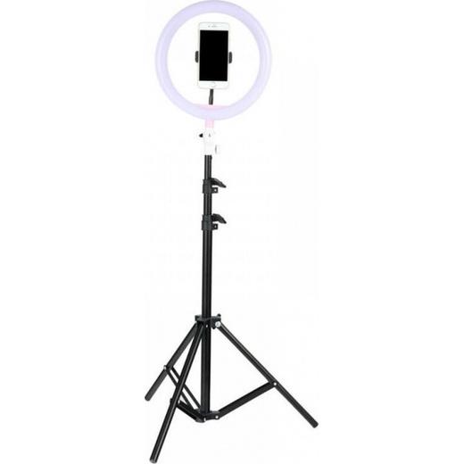 Кольцевая селфи-лампа 34см диаметр