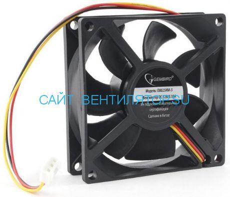 Вентилятор 80х25 12в D8025HM-3