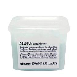 Davines Essential Haircare MINU conditioner - Защитный кондиционер для сохранения цвета 250мл
