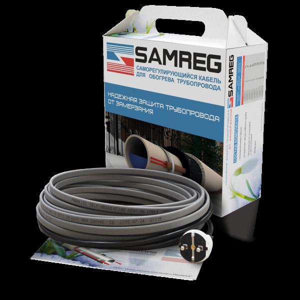 Готовый комплект саморегулирующегося кабеля 16-2CR-SAMREG- 15 (15 м)