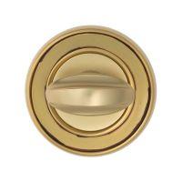 Накладка-фиксатор Venezia WC-2 D6, французcкое золото + коричневый
