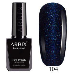 Гель лак  ARBIX № 104 Звездопад