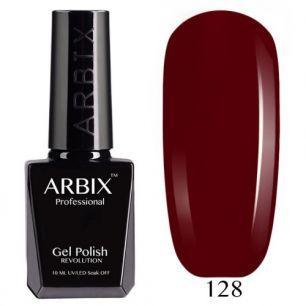 Гель лак  ARBIX № 128 Шоколадный  Штрудель