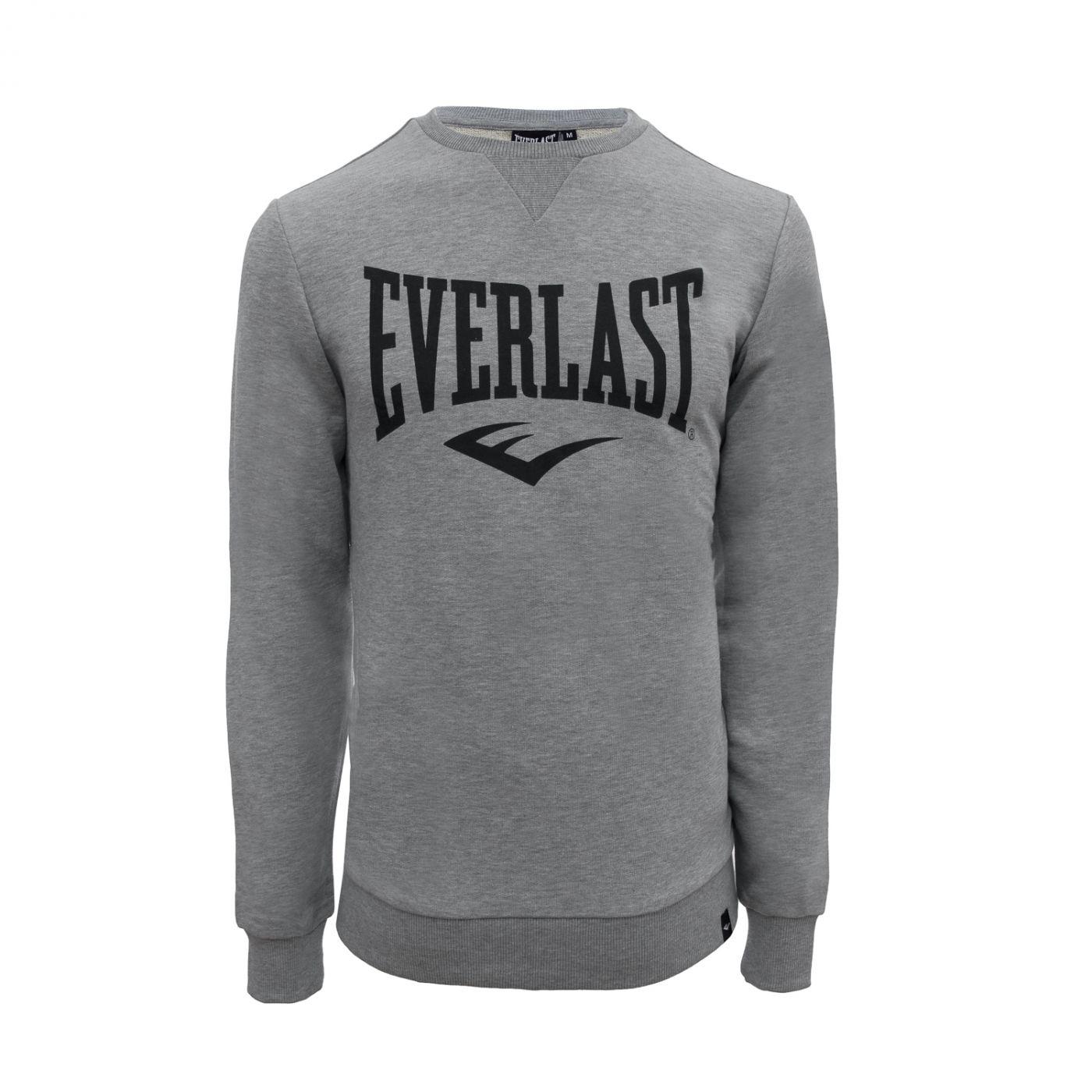 Толстовка Everlast Basic Crew, размер L, серая, артикул 788701-60 L GR