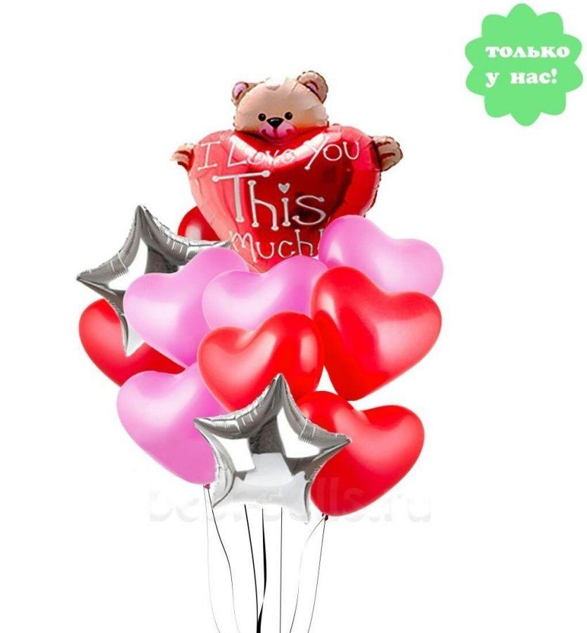 Букет из шаров Неизмеримая Любовь